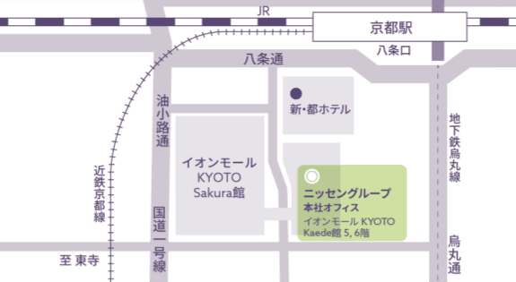 京都オフィス マップ
