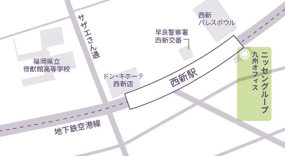 九州オフィス マップ
