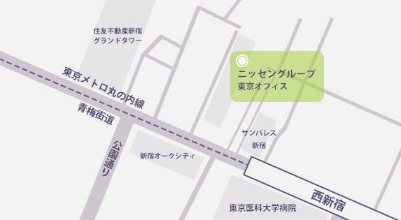 東京オフィス マップ